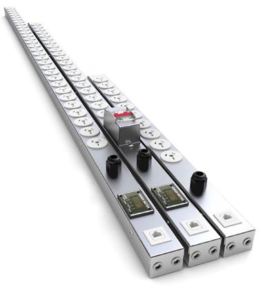 PDU 20 Way Vertical, 10A AU sockets with 10A AU Moulded plug, 2.8m lead — SRA Solutions